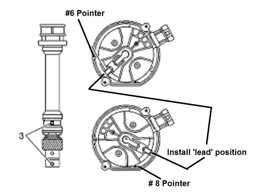 install chevy 4 3l  u0026 5 7l vortec distributor