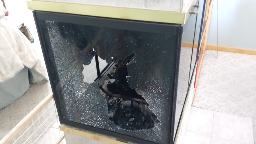 Looking For A Replacement Glass For My Warnock Hersey Pf 9000 Fireplace Th Diy Forums