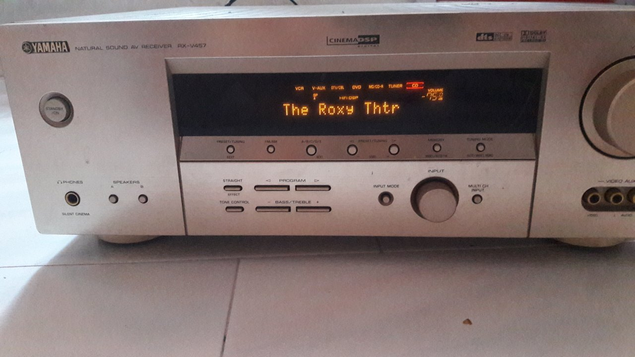 Yamaha Receiver Automatically Switches Input