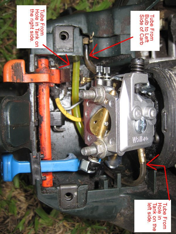 Chainsaw Carburetor Tubes | DIY Forums