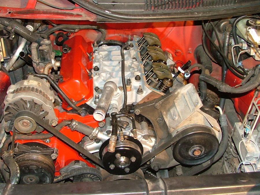 1994 Chevy Camaro 3 4 Liter Engine With A Blown Head