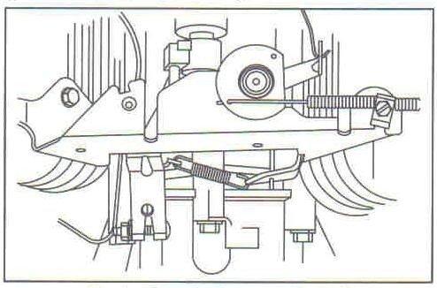 Ubbthreads in addition Briggs And Stratton Yard Machine 500 moreover Honda Gx390 Carburetor Schematic together with Schema Carburateur Briggs Stratton further 26 Hp Briggs And Stratton Engine Diagram. on carburetor linkage diagram