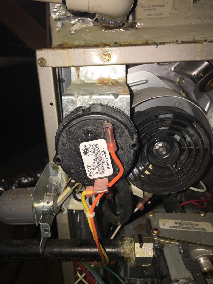 Inducer Motor Not Running