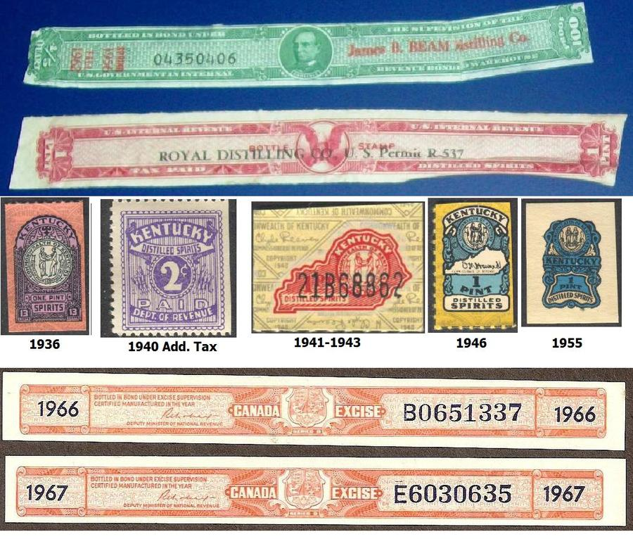 Tax Stamp Samples