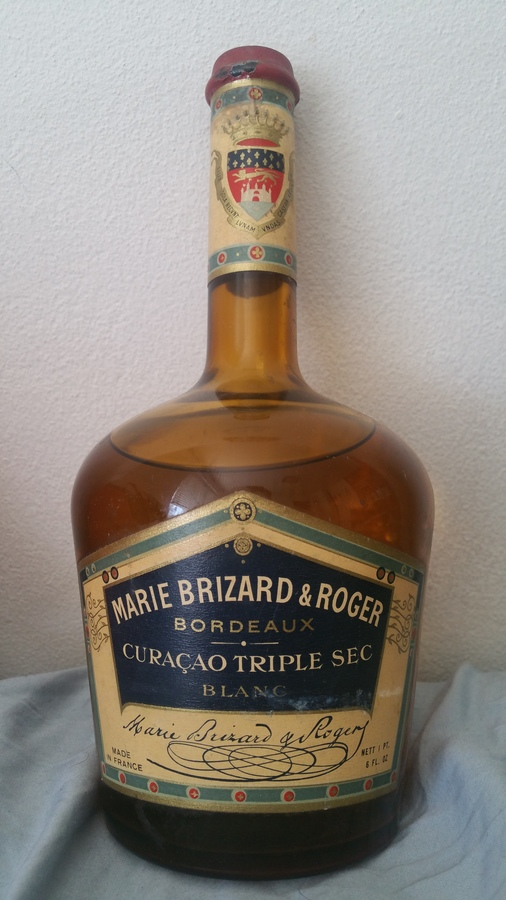 Very old marie brizard curacao triple sec drinks planet for Cocktail triple sec