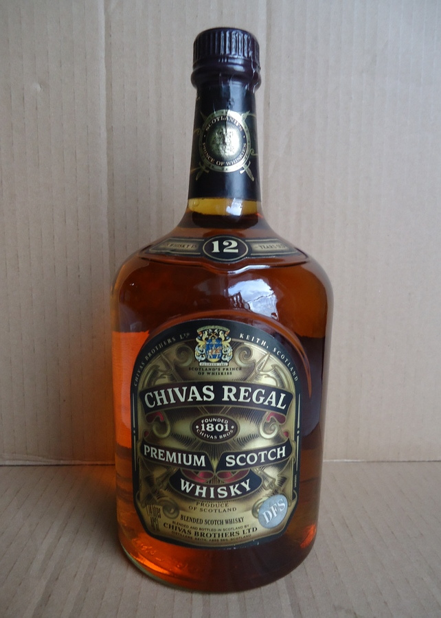 I have 3 bottles old chivas regal unopened still written premium sco drinks planet - Chivas regal 18 1 liter price ...