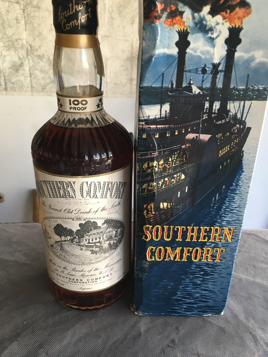Southern Comfort 100 Proof 1950s Drinks Planet
