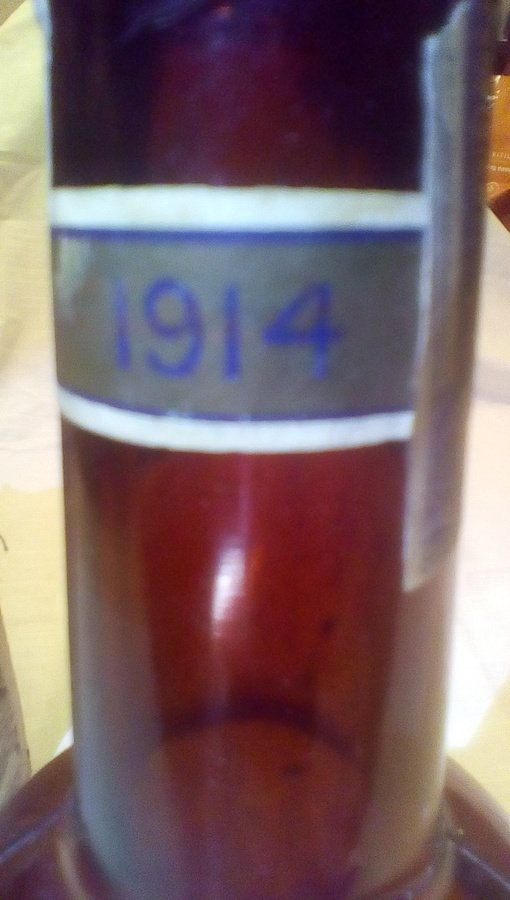 Can You Tell Me How Much My 1914 Empty Bottle Of Canadian
