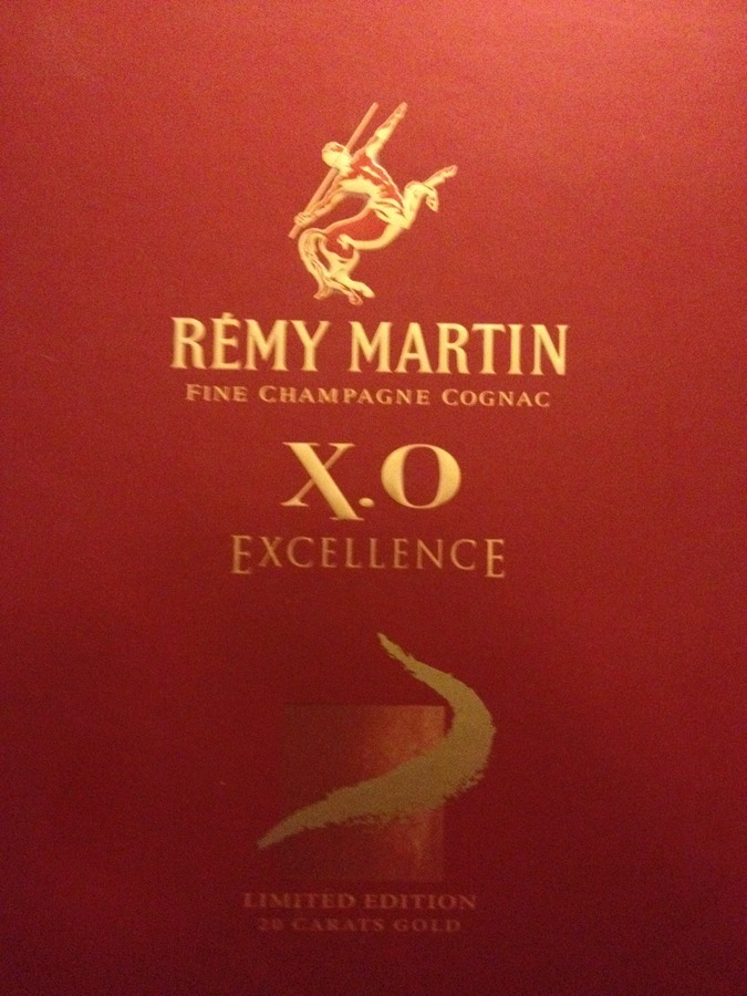 Remy Martin Cognac X O Excellence Limited Edition 20