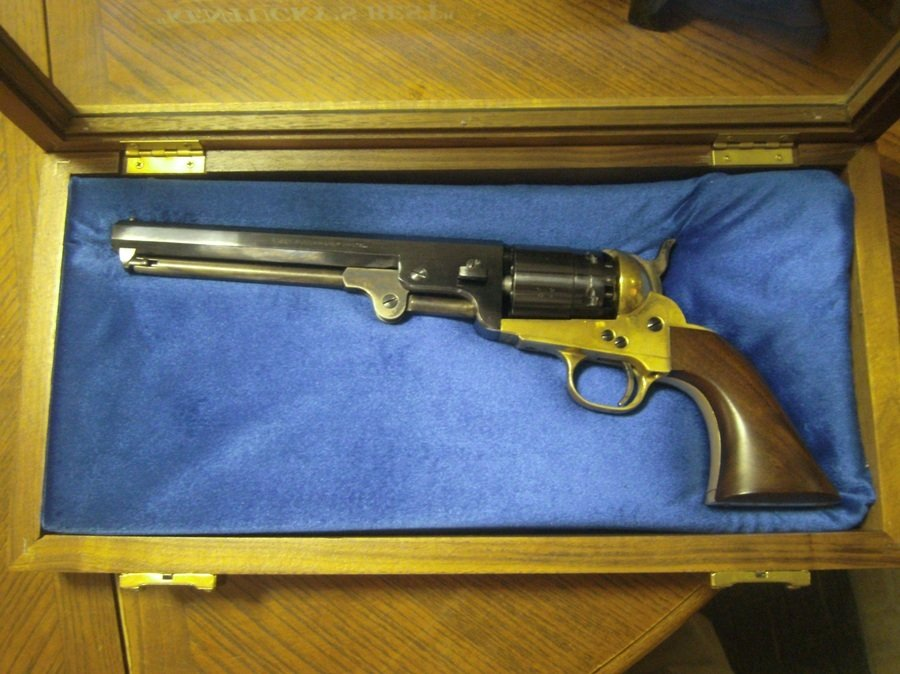 44 Cal. Navy Arms Black Powder Pistol   Gun Values Board