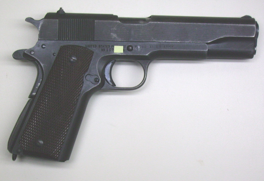 USS 1911 SN 1073XX Minor Wear On Parkerizing Any Value T