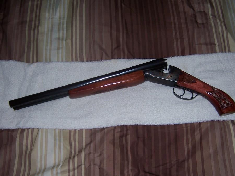 how to cut down a double barrel shotgun