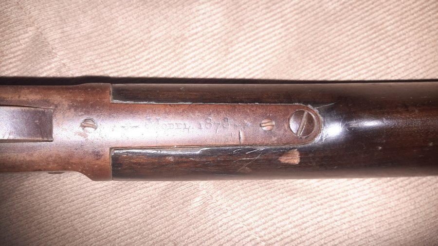 winchester 1873 serial number date