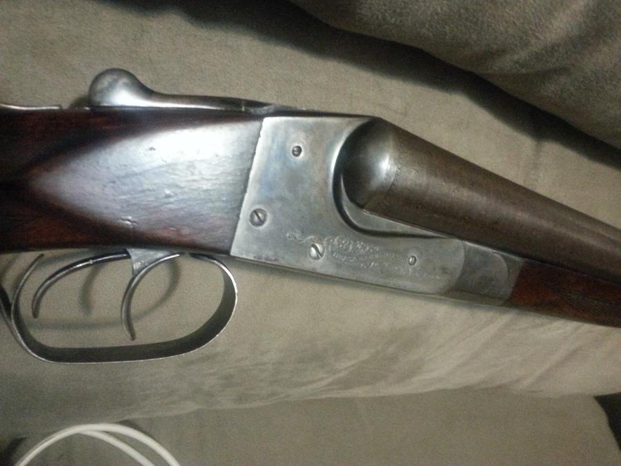 ithaca shotgun double barrel serial number