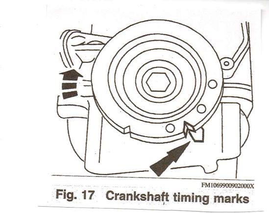 how to install a timing belt - ford zx-2 dohc - after it breaks | diy forums  diy forums