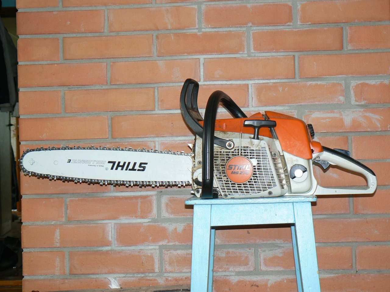 I Have A Stihl Saw And Oil Is Not Getting To The Chain Bar | DIY Forums