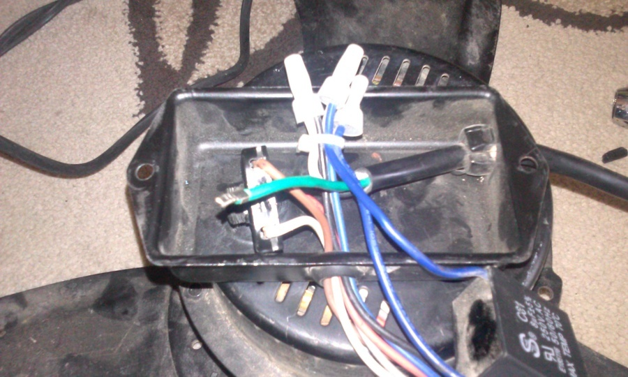 Wireing for high valocity floor fan diy forums