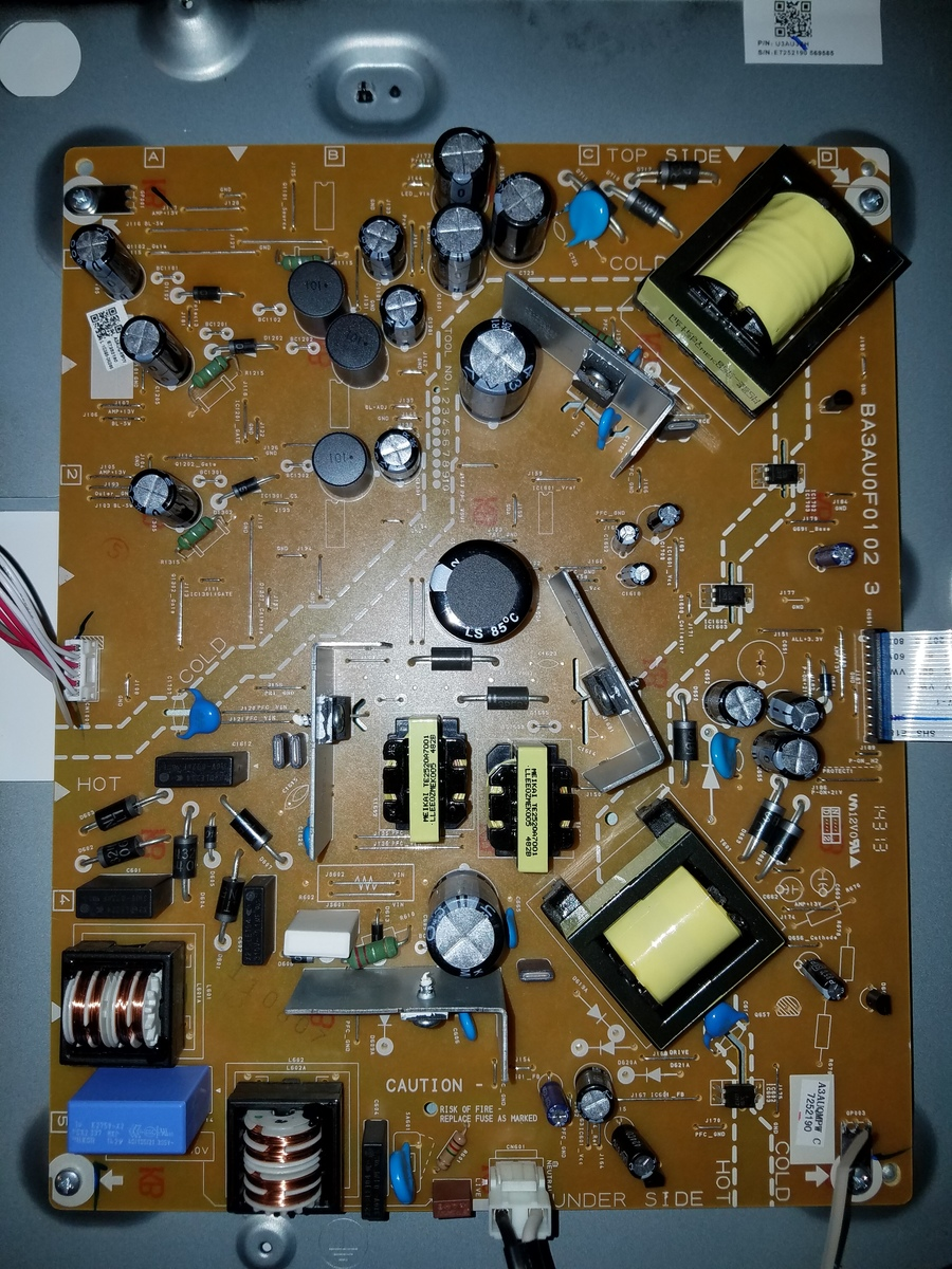 Emerson LF501EM5F Will Not Turn On And No Red Light | DIY Forums