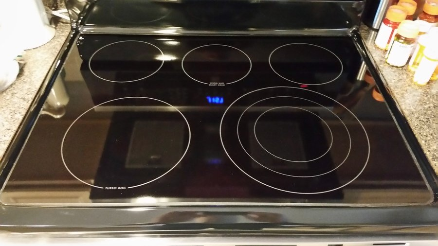 Perfect The Glass Top Of Our Kenmore Stove Shattered Over One Burner... | DIY Forums
