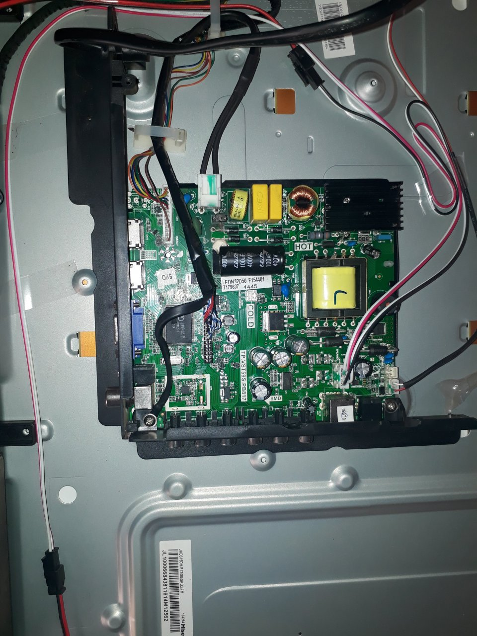 Hisense TV No Picture On Screen   DIY Forums