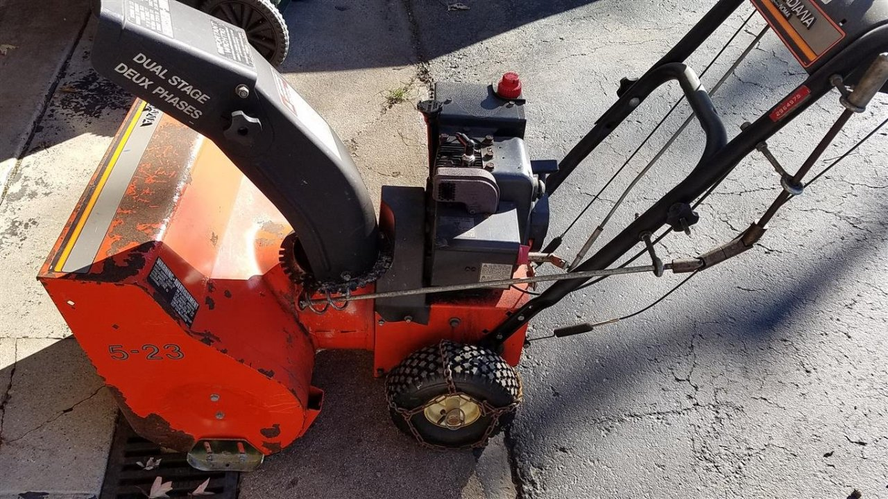trying to find service manual for an old canadiana noma cn523 rh diyforums net Noma Canadiana Snowblower Parts Noma Snow Blower Parts List