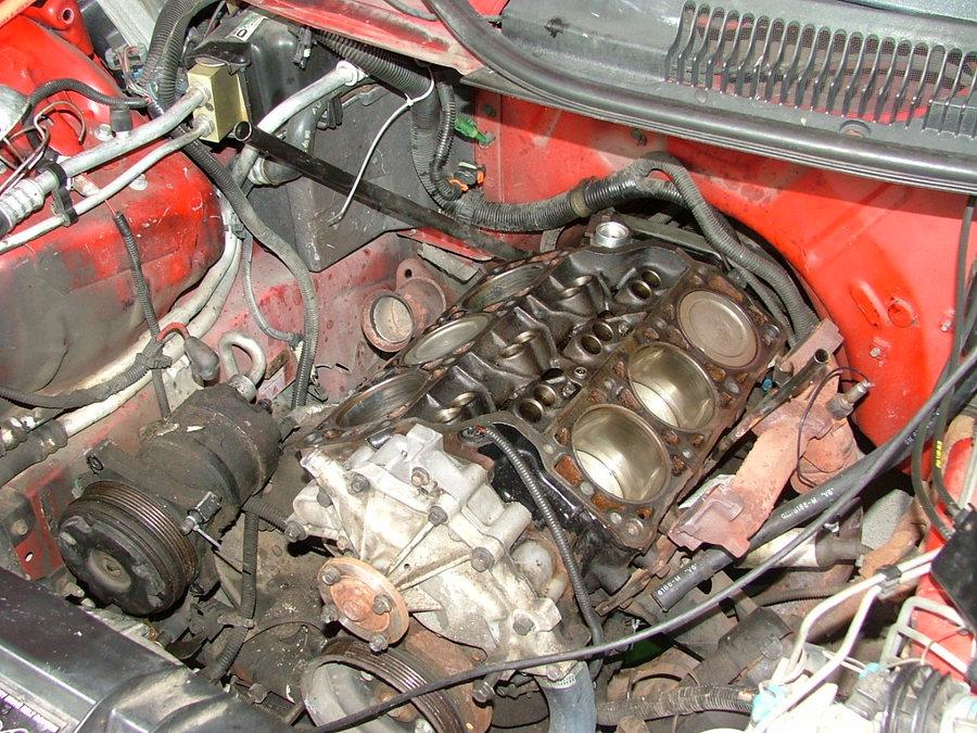 Chevy Camaro 3 4 Liter Engine