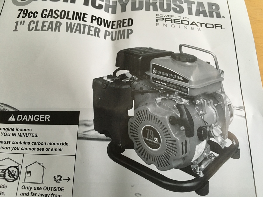 3 Gas Pacific Hydrostar Trash Pump Sold Trinidad Tobago This Is In Excellent Working Condition Ready For Any Job New 420 Usd