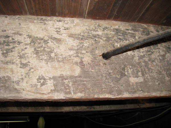 Is this mold on basement joists diy forums - What to do about mold ...