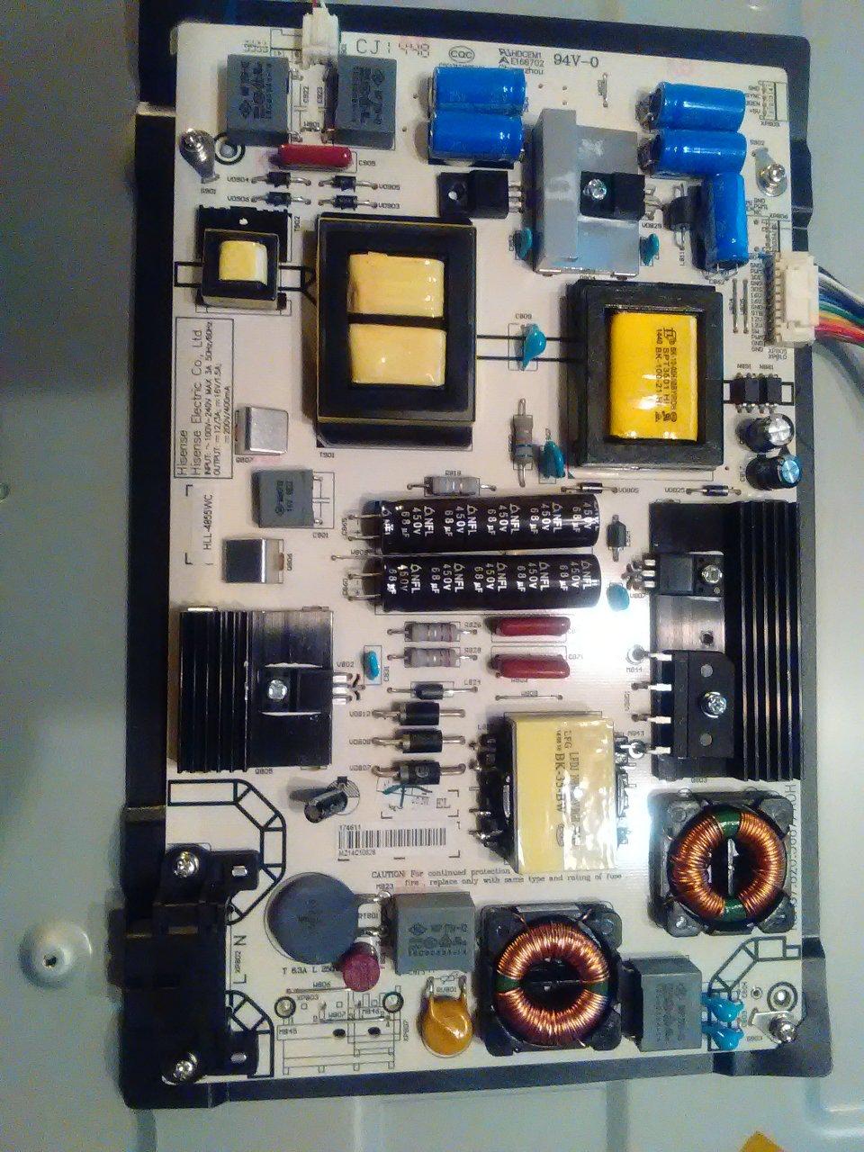 Insignia 55 Won't Power On  | DIY Forums