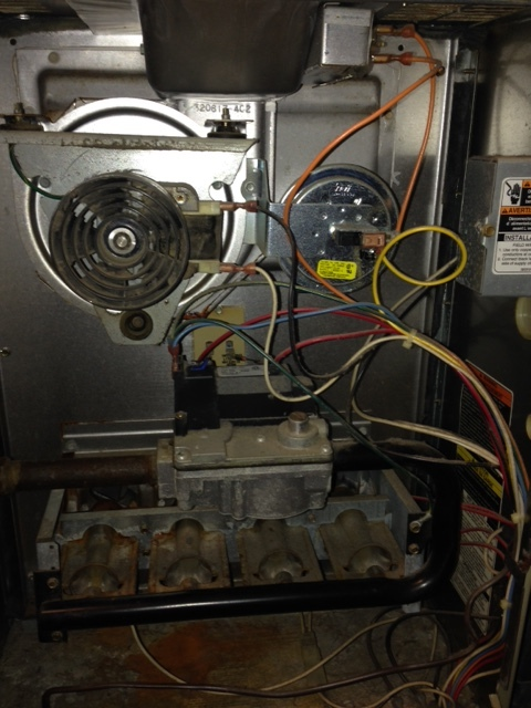 Carrier Furnace Parts >> I Have A Weathermaker 8000 Furnace And The Blower Comes On But It's Cold Ai... | DIY Forums