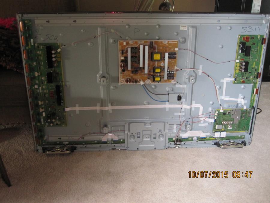 3 Blink Code On Panasonic TC-P60UT50-2 MFG: Aug 2012