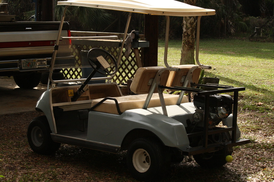 I Am Including Golf Carts Here