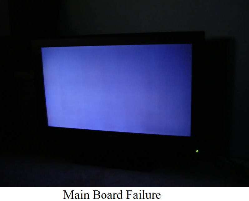 I Turn On The Tv And The Screen Is Blue  No Picture Comes On