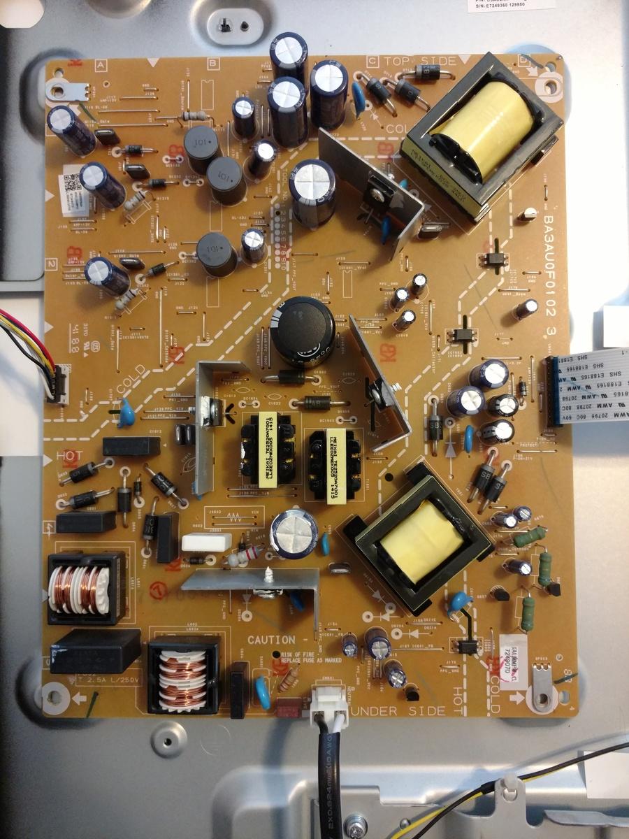 Emerson 50 Inch TV Lf501em4, Not Starting | DIY Forums