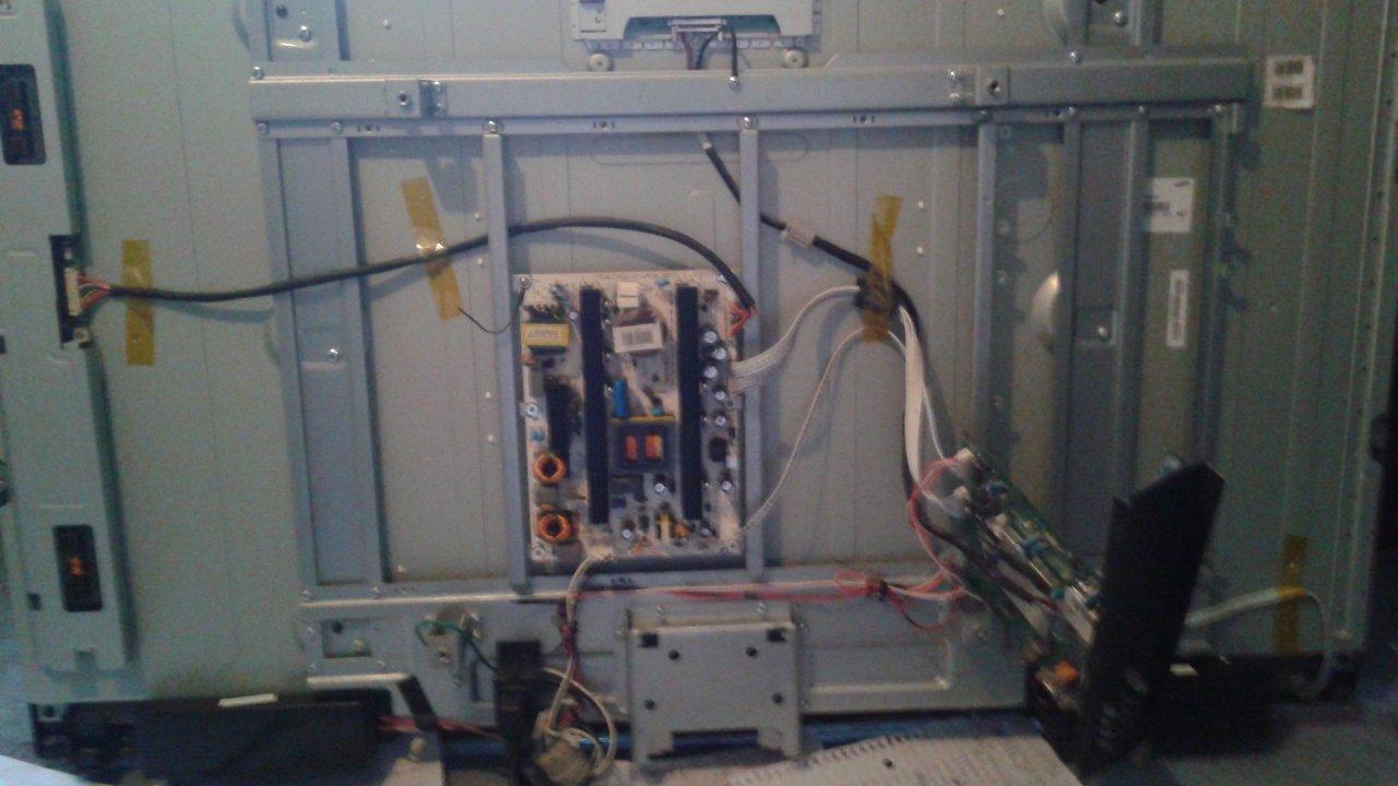 Hisense Model F46V89c Multiple Power States, Strange Siren Sound