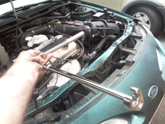 how to change belt tensioner pulley on 98 ford escort zx2 diy forums how to change belt tensioner pulley on