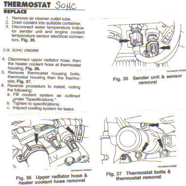 How To Replace A Thermostat >> REplace The Thermostat In 2000 Ford Escort Zx2   DIY Forums