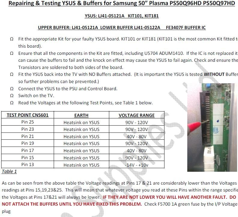 Samsung Plasma HP-T5450 | DIY Forums