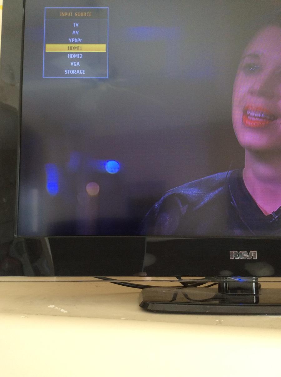 My RCA TV Model RLED3219B The