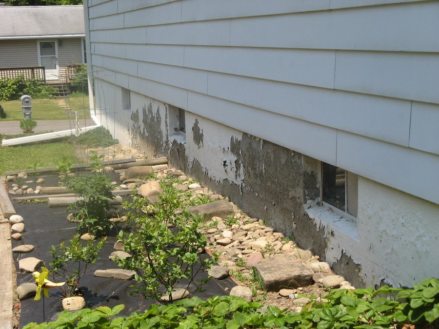 i have a poured concrete foundation house built in 1960 in upper