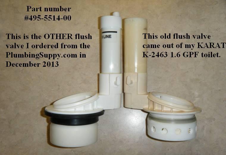 Kohler Quot Karat Quot Toilet Parts Diy Forums