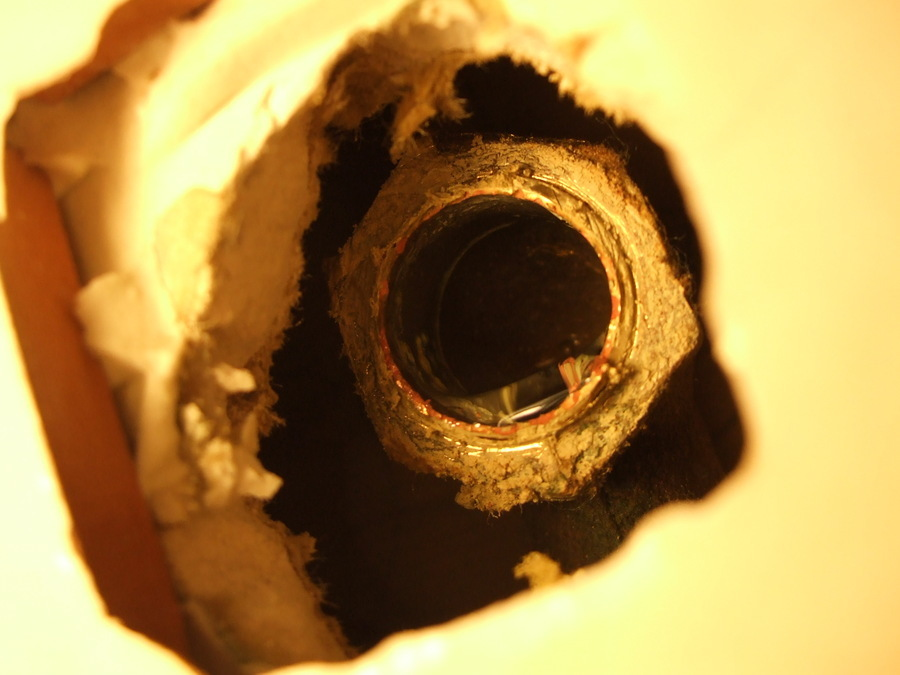 Shower Arm Broke Off In Pipe. Any Suggestions To Remove?   DIY Forums