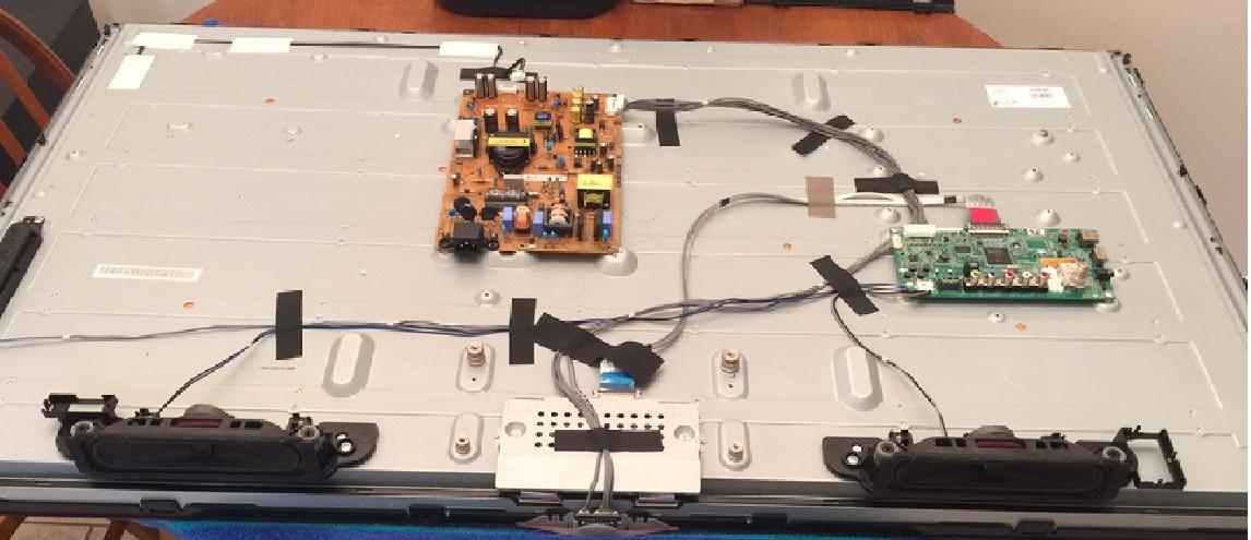 Sanyo TV Model #DP42841 Won't Turn On  You Press Power