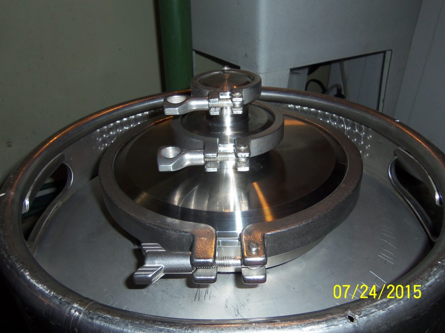 All Stainless Steel 15 5 Gallon Beer Keg Boiler With 8 3