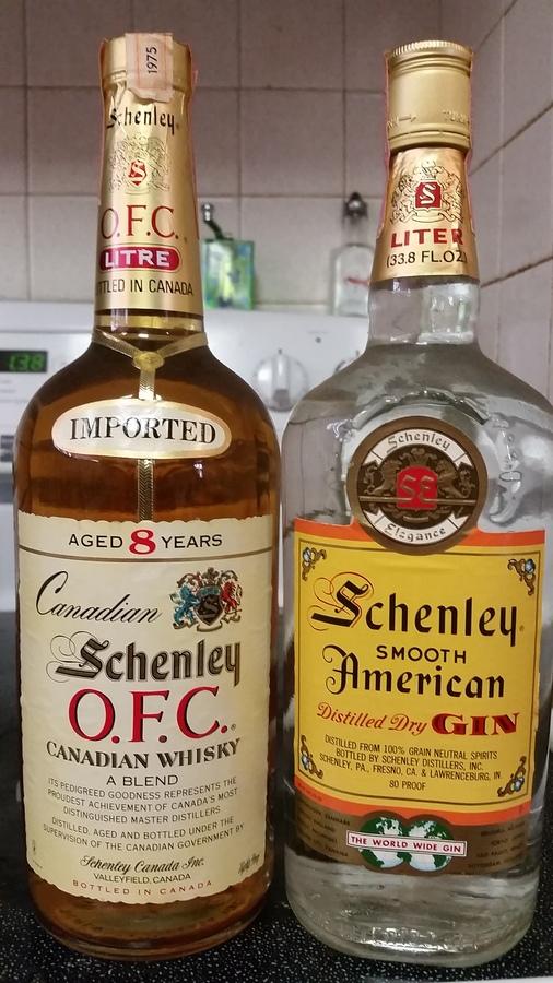 schenley american gin