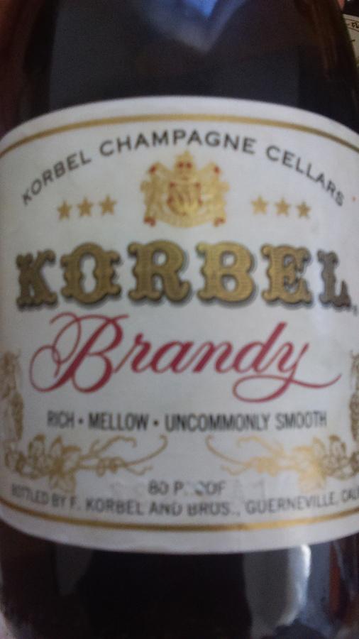 Korbel Bottle