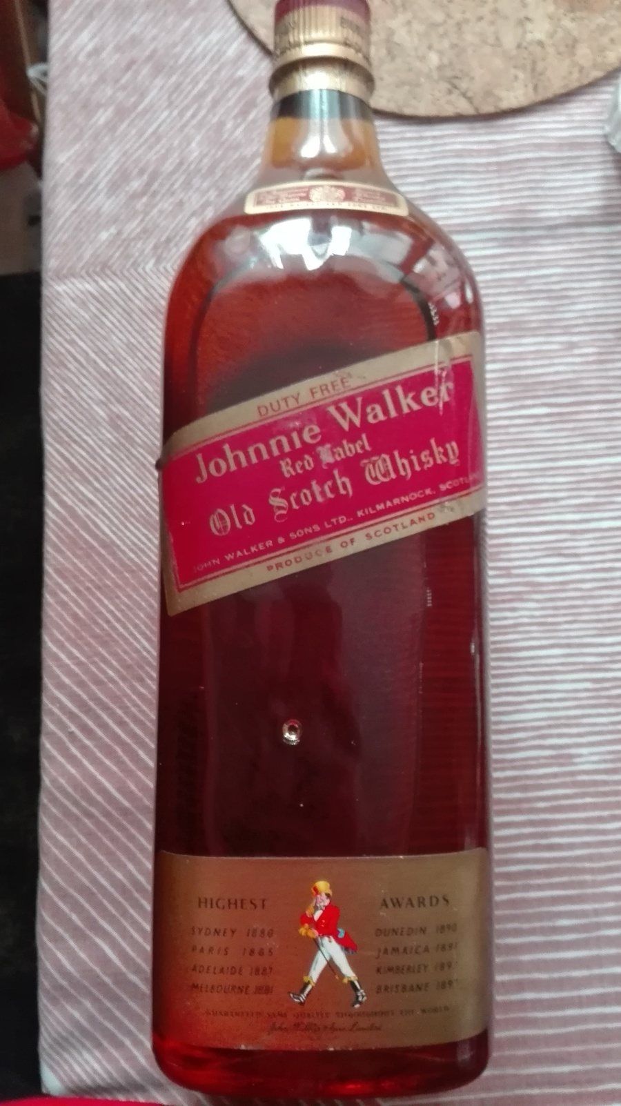 Johnnie Walker Red Label Approx Gallon Age Drinks Planet