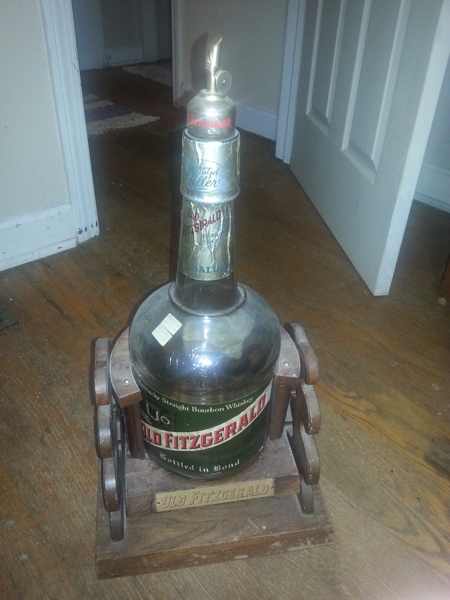 How Much Is An Open Bottle Of Old Fitzgerald 1 Gallon