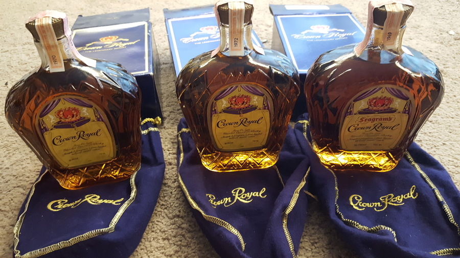 Crown Royal 1969 1970 Amp 1972 Values Drinks Planet
