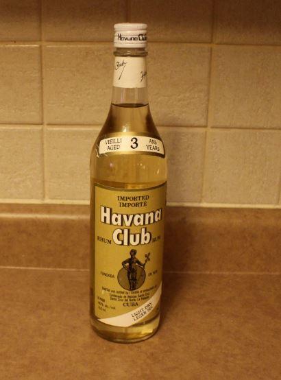 Vintage Havana Club Rum Drinks Planet